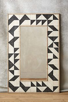 love this pattern/mirror