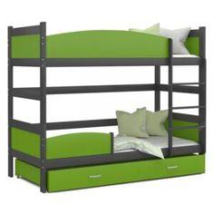 Patrové postele (Palandy) | FAVI.cz Bunk Beds, Furniture, Home Decor, Decoration Home, Loft Beds, Room Decor, Home Furnishings, Home Interior Design, Bunk Bed