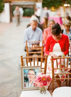 In memory...Orange County Wedding at Franciscan Gardens from Leila Brewster  Read more - http://stylemp.com/soc
