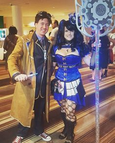 Pin for Later: 28 Doctor Who Costume Ideas For Couples That Are Fantastic