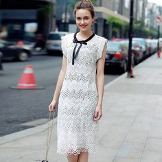 White Lingo Lace Dress https://chilitree.com/shop/white-lingo-lace-dress/ @ChiliTreeApp #lacedress #fashion #style #beauty #mode #womenclothing #onlineshopping #dress #womendress