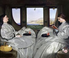 Augustus Egg (1816-1863) - Travelling Companions Birmingham Museum and Art Gallery