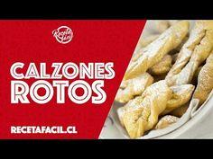 Receta Fácil de Calzones Rotos - YouTube French Toast, Meat, Chicken, Breakfast, Youtube, Recipes, Amor, Baking, Pastries