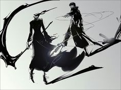 Celty and Hei  (Durarara! x Darker than Black)