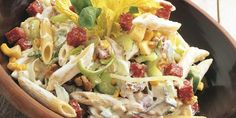 in my mouth Kos, Penne, Summer Salads, I Love Food, Pasta Dishes, Allrecipes, Cobb Salad, Salad Recipes, Potato Salad