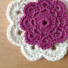images of crochet | Crochet flowers – Project 365