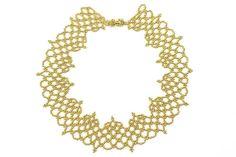 Alencon Beaded Necklace