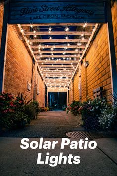 Make your patio perfect with these pretty lights. For many people, patios are the centerpiece of the backyard. But why not illuminate your patio to achieve the relaxing, warm atmosphere you need to make your yard complete. Patio lights come in many forms: solar string lights, path lights, torch lights, wall lights, and even lanterns. Best Outdoor Solar Lights, Solar Patio Lights, Patio String Lights, Path Lights, Patio Lighting, Le Hangar, Porche, Torch Light, Pretty Lights