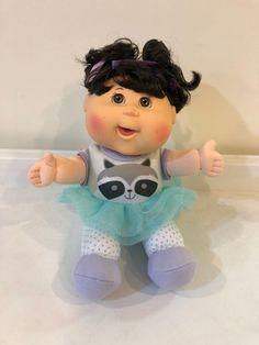 Cabbage patch kids doll, used but in excellent condition, may have some light marks or scuffs, see pictures Cabbage Patch Kids Dolls, Racoon, Perfect Timing, Best Pillow, Child Doll, Daughter Love, Smell Good, See Picture, Kids Toys