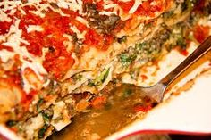 Jennifer Hudson's Veggie Lasagna - 5 Weight Watchers pp