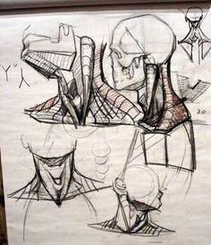 Учимся рисовать человека с натуры.