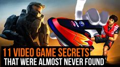 11 video game secrets that were almost never found  #Games #Secrets
