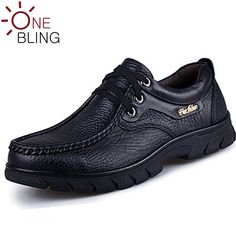 74bc464ef Discounts 2016 Spring Autumn Fashion Genuine Leather Men Shoes Waterproof  Lace-up Casual Shoes Outdoor Soft Flat Shoes 2 Colors