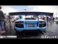 Lamborghini Aventador LP700-4 Liberty Walk Armytrix at Newport Beach /activfilm/JGfilmHD - YouTube