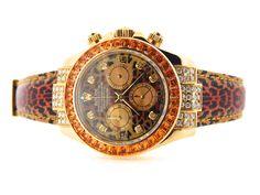 Rolex Mens Yellow Gold Daytona 116518 for sale Cosmograph Daytona, Orange Sapphire, Chronograph, Rolex Watches, Bracelet Watch, Bling, Diamond, Men