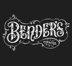 pinterest.com/fra411 #typography #lettering by Forefathers Group