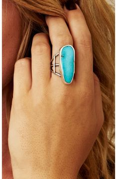 turquoise statement ring...i really need to get my statement ring on