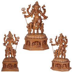 Sculpture Clay, Sculptures, Lord Shiva Statue, Pooja Room Design, India Art, Indian Actress Hot Pics, Lord Ganesha, Gods And Goddesses, Teak Wood