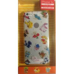 Pokemon Center 2014 Fennekin Sylveon Dedenne Meowstic & Friends iPhone 5c Mobile Phone Hard Cover
