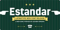 Estandar - Webfont & Desktop font « MyFonts