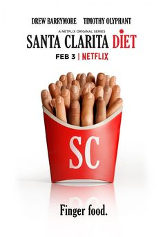 Trailer, featurette, images and posters for Netflix's new horror comedy series SANTA CLARITA DIET starring Drew Barrymore and Timothy Olyphant. Santa Clarita Diet, Drew Barrymore, Netflix Originals, The Originals, Tv Series 2017, Netflix Original Series, Timothy Olyphant, A Series Of Unfortunate Events, Comedy Series