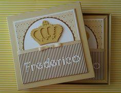 KIT livro Bebe e caixa coroa dourada Majestade: O Príncipe!