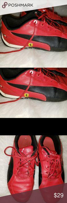 a691224c2fe Puma Men s Kids Red Ferrari Sneakers Size 5 US PUMA Men s Ferrari Future  Cat OG Sneaker