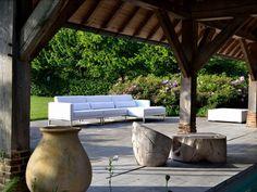 kawan xl lounge garten sofa 3-sitzer teak recycled #garten, Garten und erstellen