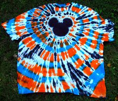 Florida Gators Tye- Dye Instructions for Spiral Mickey Shirt - Page 105 - The DIS Discussion Forums - DISboards.com