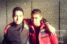 with my friend abdo