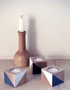 Via Le Butik Sofie | DIY Geometric Tea Lights | Made and Sold by Le Butik Sofie