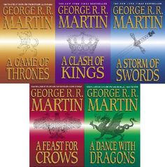 A Song of Ice and Fire series by George R. R. Martin | This the next series on my list of things to read.