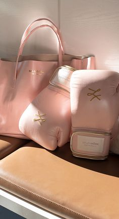 Boxing Gloves Drawing, Trendy Hoodies, Tough Girl, Boxing Workout, Aesthetic Girl, Pink Girl, Fit Women, Leather Bag, Initials