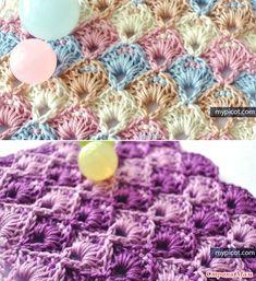 Узоры крючком от MyPicot +ссылка на МК. (пост закрыт) My Picot, Stitch Patterns, Crochet Necklace, Stitches, Blankets, Crochet Throw Pattern, Tejidos, Patterns, Shawl