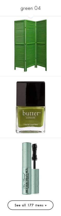 """""""green 04"""" by catharine-polyvore ❤ liked on Polyvore featuring beauty products, nail care, nail polish, nail, makeup, green, butter london, butter london nail polish, butter london nail lacquer and eye makeup"""