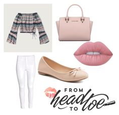 """""""Casual Date"""" by melodywilliamson on Polyvore featuring Abercrombie & Fitch, H&M, Michael Kors, Lime Crime and SO"""