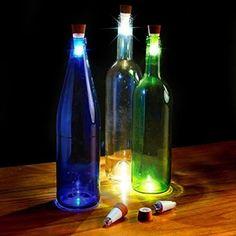 Rechargeble LED Bottle Stopper (Set of 2)