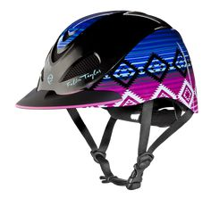 The Troxel Fallon Taylor Candy Serape Helmet will let you take a ride on the wild side! This superb helmet has been Horse Riding Helmets, Horse Riding Clothes, Riding Hats, Riding Gear, Equestrian Boots, Equestrian Outfits, Equestrian Style, Equestrian Fashion, Westerns