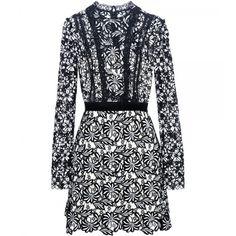 Antoinette Lace Mini Dress