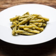 Pesto de Manjericão (Al Pesto di Basilico) Green Beans, Lucas Lima, Bacon, Vegetables, Breakfast, Foods, Awesome, Salad Dressings, Cheese Soup