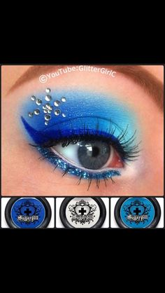 Glitter girl creation. Very cute love the rhinestones.