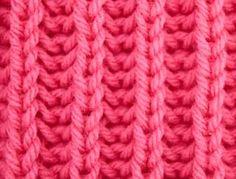 Knitting Galore: Saturday Stitch: Stockinette Brioche
