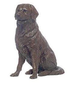 Golden Retriever Bronze Dog Statues | Golden Retriever Dog Art Sculptures | The Randolph Rose Collection