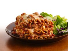 Dinner tonight! Crockpot lasagna :)