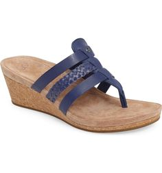 d61c2215b1dbd8 Main Image - UGG® Maddie Wedge Sandal (Women) Slide Sandals