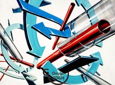 Shape And Form, Art Drawings, Neon Signs, Shapes, Design, Art Paintings