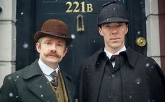 MASTERPIECE Sherlock: The Abominable Bride Benedict Cumberbatch (The Imitation Game) and Martin Freeman (The Hobbit) return as Sherlock Holmes and Dr. Watson in the acclaimed modern retelling of Arthur Conan Doyle's classic stories. But now our heroes find themselves in 1890s London. Beloved characters Mary Morstan (played by Amanda Abbington), Inspector Lestrade (Rupert Graves) and Mrs. Hudson (Una Stubbs) also turn up at 221b Baker Street. Sherlock: The Abominable Bride is a 90-minute…