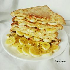 Healthy Honey Banana French Toast French Toast can be healthy-fied too! Pop over to my blog for the recipe! :D