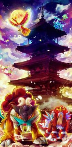 Legendary Pokemon, temple; Pokemon