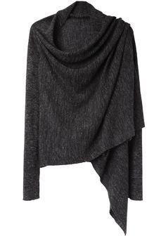 VPL / Blanket Wrap Cardigan   La Garçonne